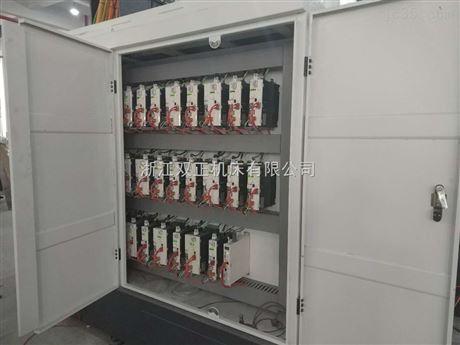 水车式八工位两方向十轴全伺服组合专机