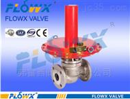 自力式微压调节阀介于主要用于控制阀前压力