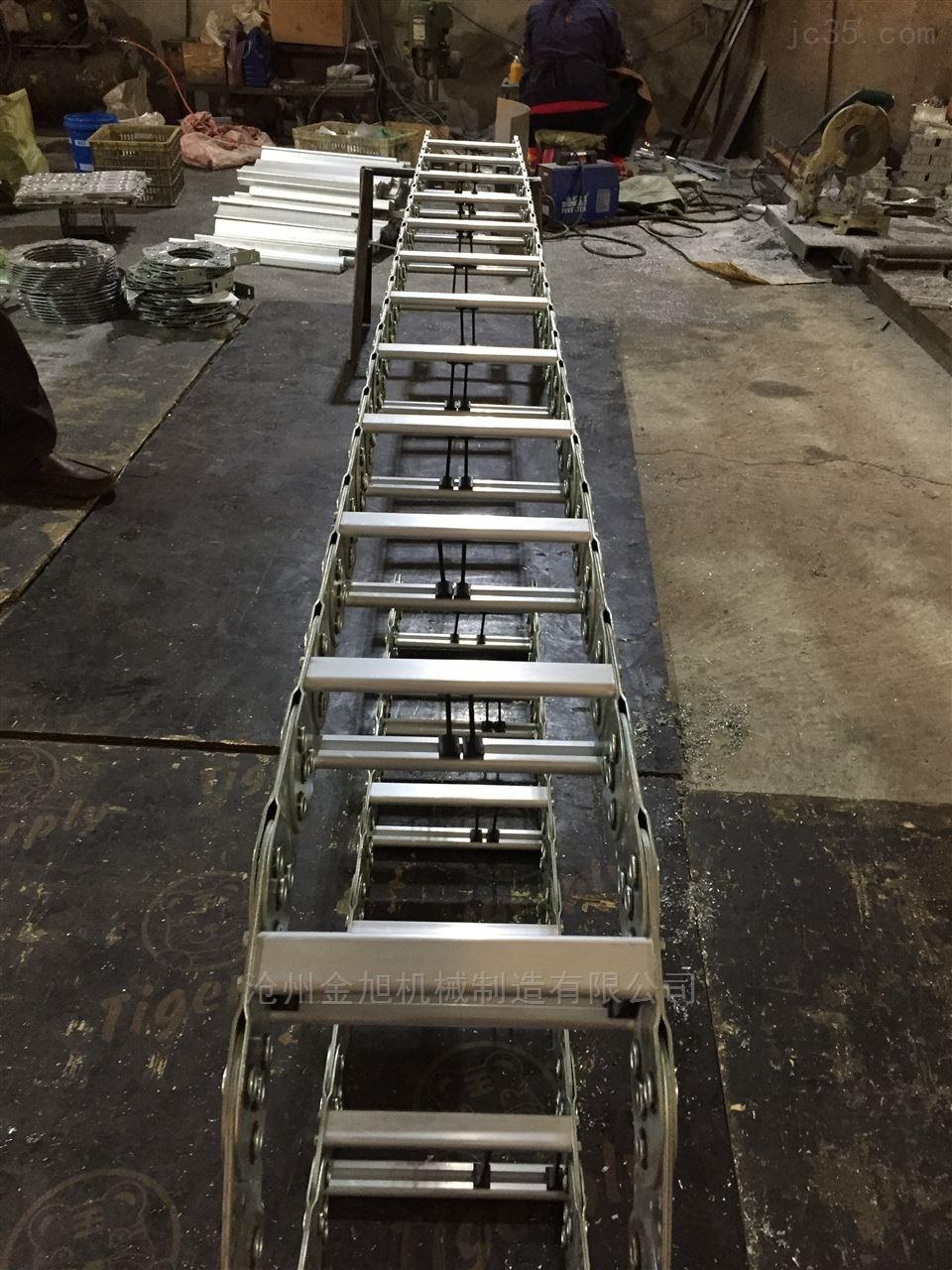 数控切割机钢制电缆拖链