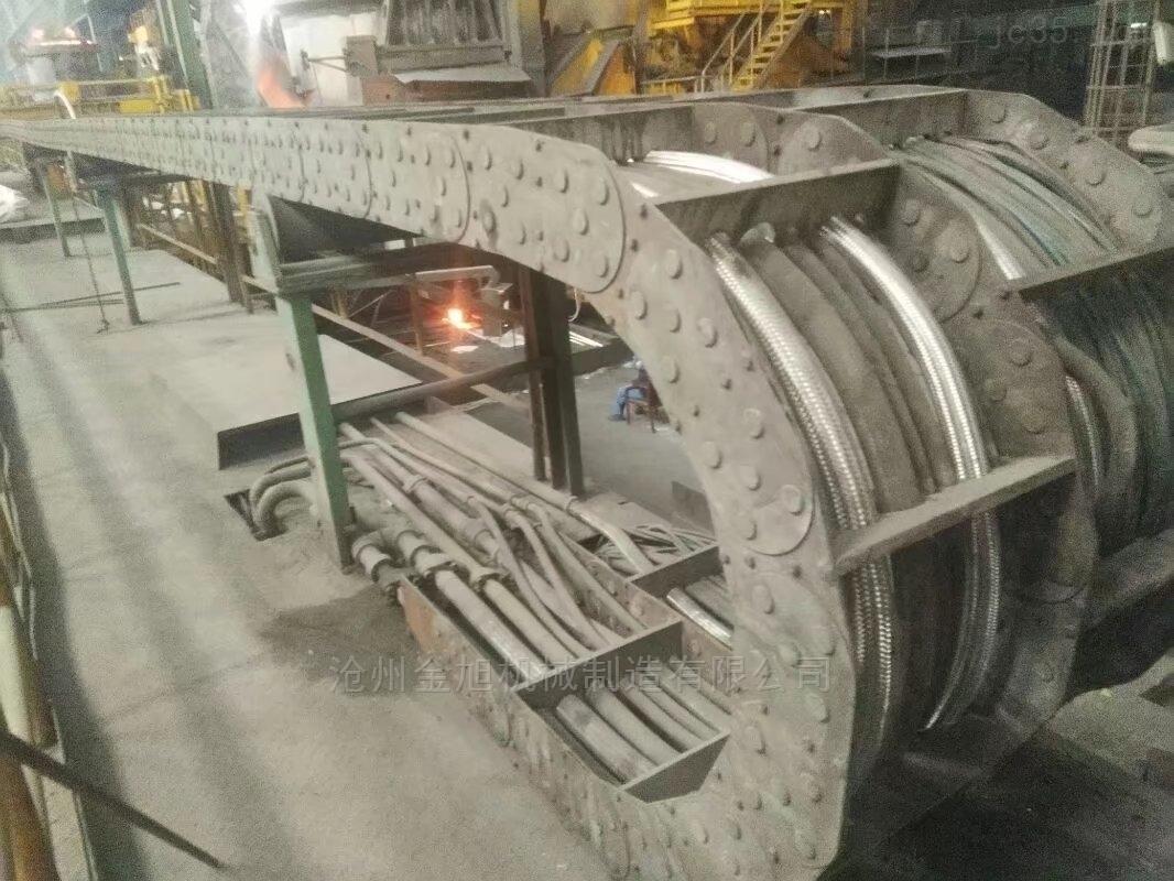 TL125型钢制拖链的参数