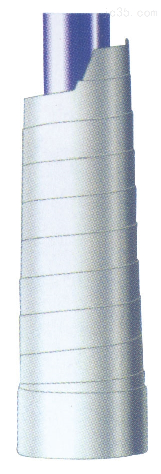 自动伸缩式碳钢防火螺旋钢带保护套