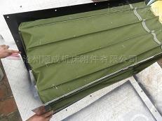 防静电方形阻燃帆布软连接