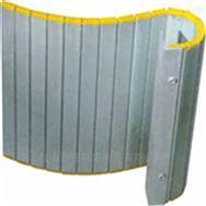 机床铝型防护帘及防尘折布