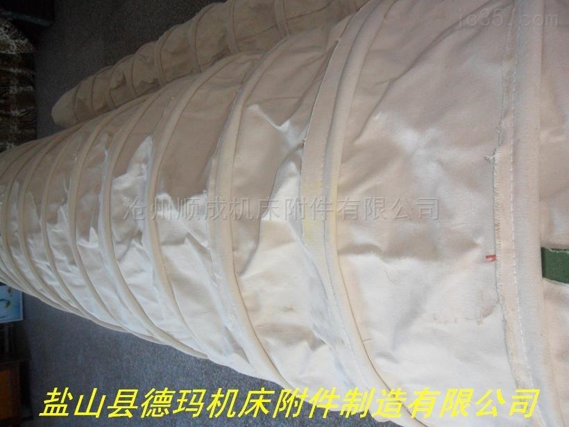 水泥厂耐磨颗粒输送伸缩布袋供应