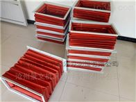 55红色硅胶布耐高温风道口伸缩软连接厂家报价