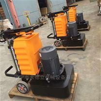 580型地坪研磨抛光机 12头水磨石地面磨地机