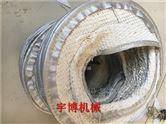 供应耐高温纤维布伸缩丝杠防罩