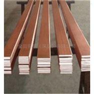 天津T2紫铜排圆锯切割 C1100铜排镀锡红铜排