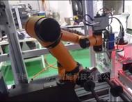 遨博多功能机械臂搭载移动AGV小车