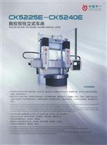 CK5225E经济型数控双柱立式车床