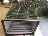 自定帆布耐温粉尘颗粒输送伸缩软管厂家供应
