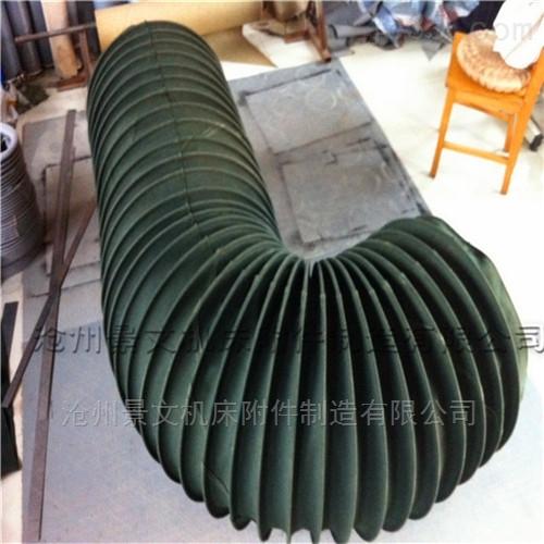 钢丝骨架除尘通风伸缩软连接价格