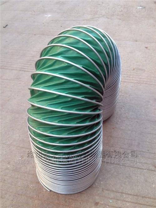 上海耐温300度通风伸缩软管厂家价格