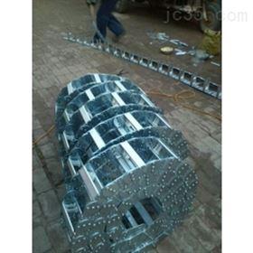 按要求订做打孔式电缆钢制拖链规格齐全