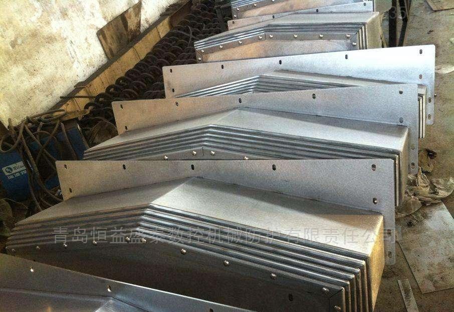 蒙城斌盛机床850加工中心Y轴前后钢板防护罩