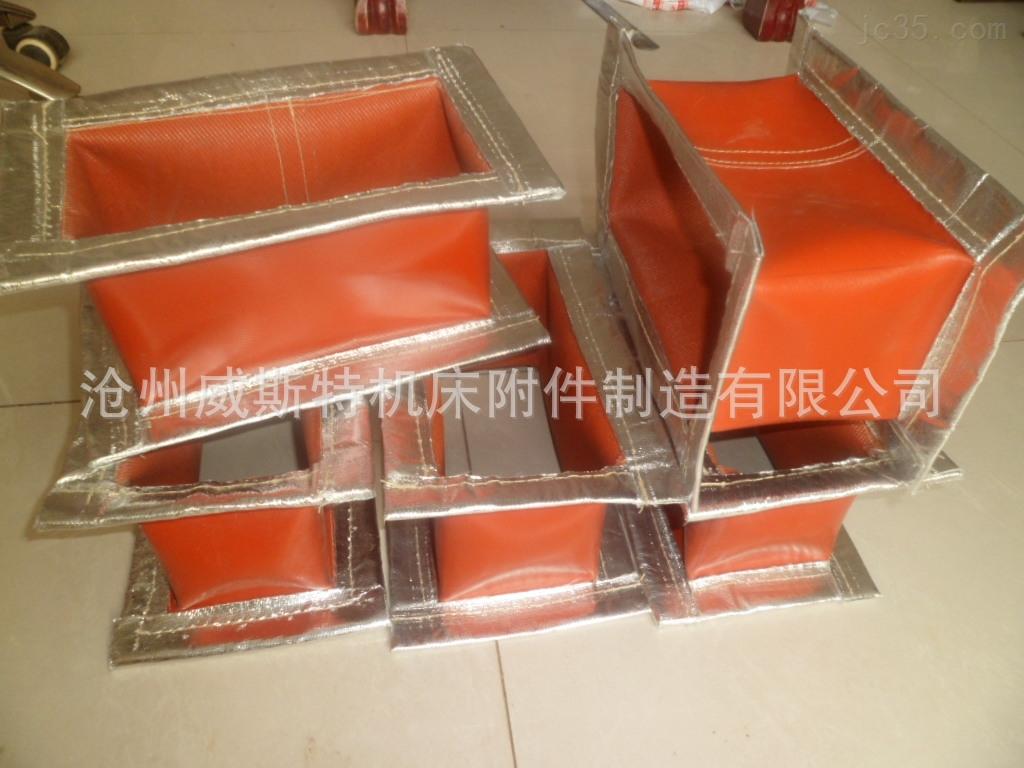 耐高温锥形硅钛软连接
