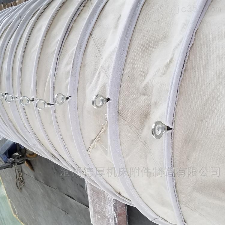 化工粉尘水泥耐磨伸缩帆布袋