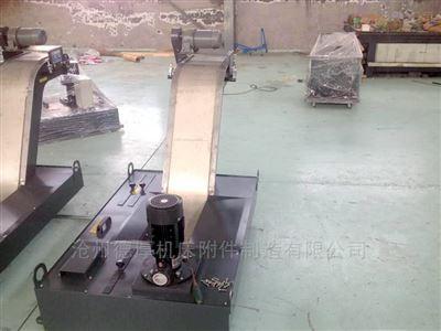 1220福建链板式铁屑排屑机