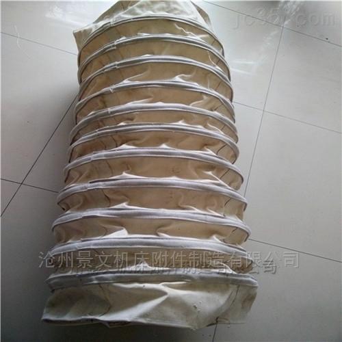 水泥耐磨加厚帆布输送伸缩布袋生产商