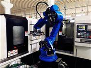自動上下料機器人替代人工工作