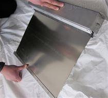 定做唐山不锈钢自动伸缩卷帘防尘罩