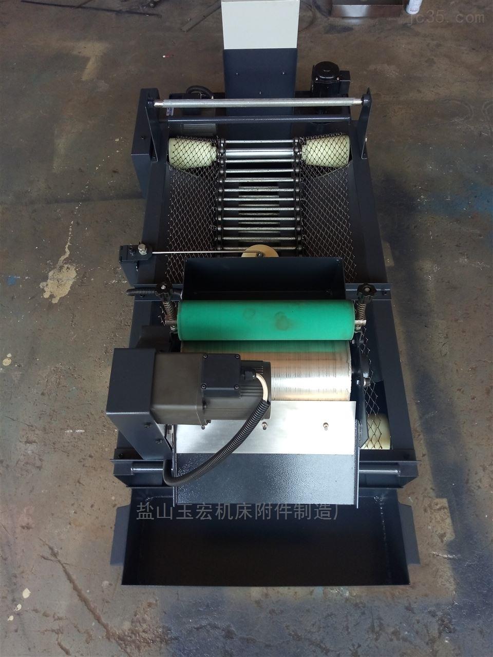 50L/min纸带过滤机和磁性分离器组合使用