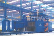 聊城耀强钢结构焊接设备H型钢通过式抛丸机