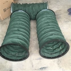 加厚帆布伸縮筒,耐磨伸縮袋,高溫帆布伸縮筒,高溫帆布伸縮防塵套