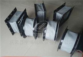 伸缩方型帆布通风管软连接加工