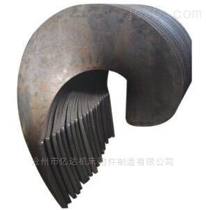 连续冷轧加工分段螺旋叶片生产厂家