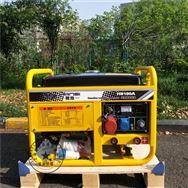 戶外廣告牌專業焊機翰絲HS250A汽油電焊機