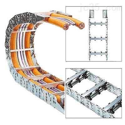 钢铝穿线拖链