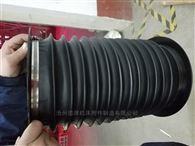 黑色尼龙布活塞杆防护罩