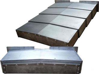 磨床导轨钢板防护罩