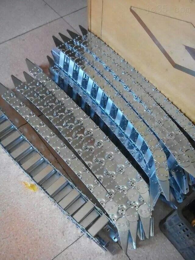 青岛恒益盛泰TLG型钢制拖链安装尺寸