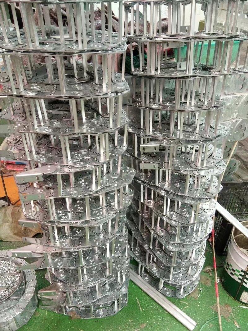 沧州重型金属拖链