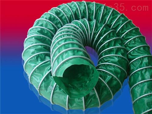北京鋼絲骨架耐磨帆布除塵軟管廠家