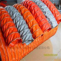 钢丝骨架耐温帆布通风伸缩软管厂家定做价