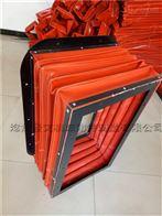 自定中山机械设备耐温方形风道软连接价格