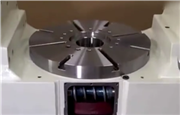 五轴联动数控机床工作台是如何传动的 你看懂了吗?