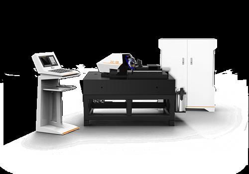 """主轴为空气静压结构,并搭载三菱数控系统,""""高品质硬件 高科技软件"""""""