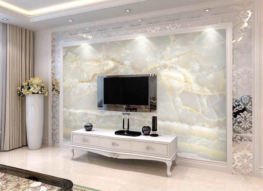电视背景墙打印机彩雕瓷砖背景墙打印机理光uv平板打印机