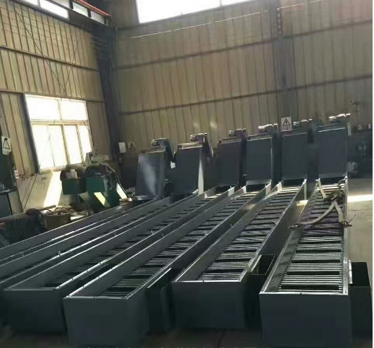 机床链板排屑机